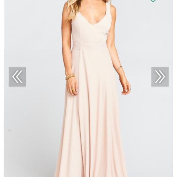 Show Me Your MuMu Dresses | Blush Colored Bridesmaid Dress | Poshmark